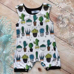 Other - Boutique Baby Unisex Cactus Romper